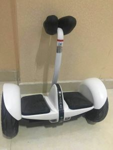Two Balance Big Wheel with Handle Electric Scooter pictures & photos