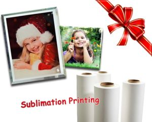 """Quick Dry Anti-Curl 85GSM 44"""" Sublimation Transfer Paper for Polyester Textile/Home Decoration/ Gifts Accessories pictures & photos"""