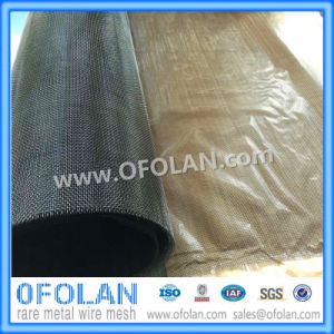High Temperature Molybdenum Wire Mesh Hoting Sales pictures & photos