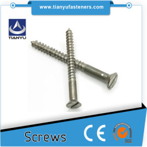 305 Stainless Steel Square Drive Deck Screws for Composite Wood and Wood Decking pictures & photos