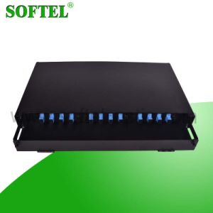 12-144 Core FTTH Fiber Optic Distribution Frame ODF pictures & photos