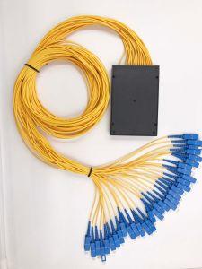 Gpon Telecommunication 1X32 Plastic Box PLC Splitter for CATV/Optical Fiber pictures & photos
