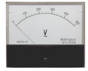 Ammeter & Voltmeter (59L1 V Type)
