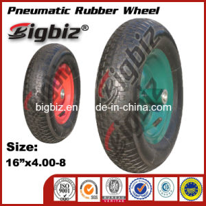 Best Quality China 16X4.80/4.00-8 Pneumatic Rubber Wheel pictures & photos