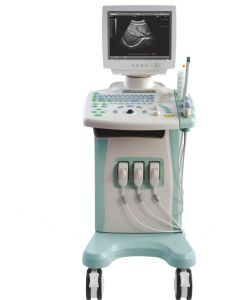 Trolly Black & White Ultrasound System with CE pictures & photos