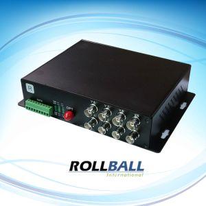 8 Channle Video Multiplexer Over Fiber (RB-VM08)