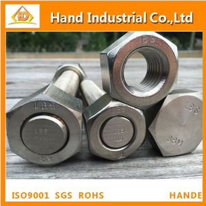 Stainless Steel Bolt ASME A194 B8 B8m M12 Hexagonal Nut pictures & photos