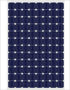 Solar Panel 255W with 96PCS Mono 125*125mm Solar Cell (CNSDPV-255(S)) pictures & photos