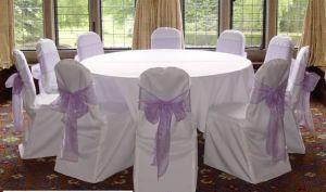 Chair Covers & Organza Sash