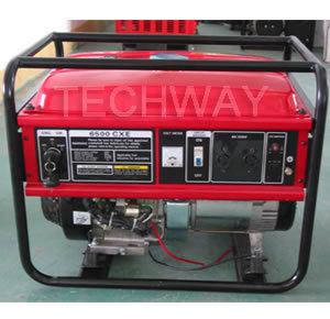 Tw5500 (E) 5kw Gasoline Generator pictures & photos