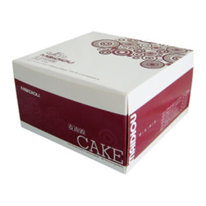 Top Quality 4c Printing Flat Shipped Cake Box (YY-K005) pictures & photos
