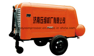 Air Cooled Piston Type Portable Air Compressor pictures & photos