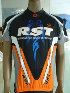 100% Polyester Sublimation Print Cycling Wear