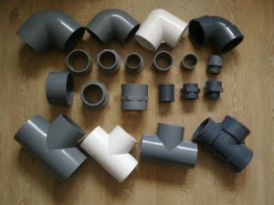 New PVC Pipe Fittings Coupling pictures & photos