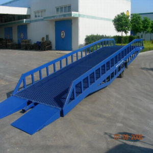 Mobile Yard Dock Ramps with 10 Tons