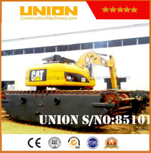 Cat 320d (20t) Amphibious Excavator with Undercarriage Pontoon pictures & photos