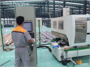 4 Axis CNC Machine for Aluminum, Copper, PVC and Industrial Profiles Lede CNC pictures & photos