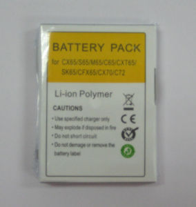 Lithium Polymer Battery Pack for Siemens CX65 Mobile Phone pictures & photos