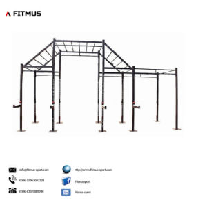 Pull up Rack Squat Rack with Pull up Bar Pull up Station Pull up DIP Station Pull up Bar Stand Pull up Bar Station Pull up Bar Freestanding Crossfit Rig Pullup pictures & photos