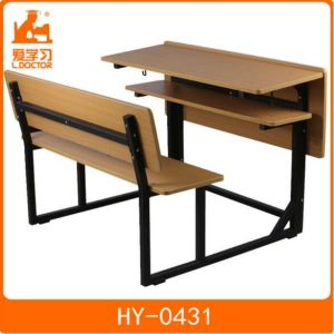 Student Study Desk with Chair for Primary School pictures & photos