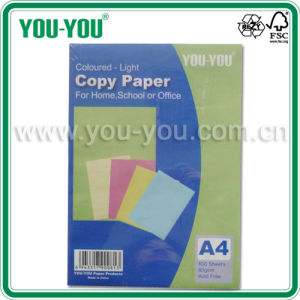 Maufacturer A4 100 Sheets Pastel Colored-Light Copy Paper