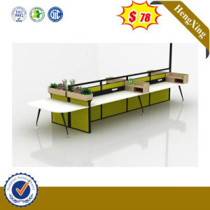 Modern Simple Office Furniture Workstations Metal Frame Computer Desk pictures & photos