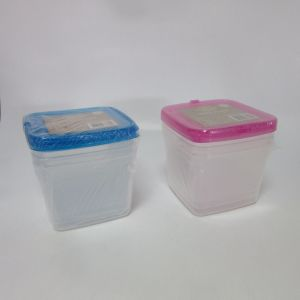 Plastic Set of 3 Storage Boxes, 1750ml pictures & photos