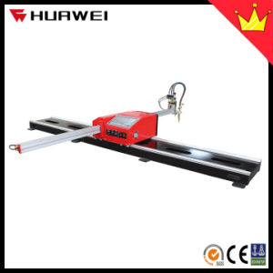 Portable CNC Flame Oxy Fuel Plasma Cutting Machine Cutter (HNC-1800W) pictures & photos