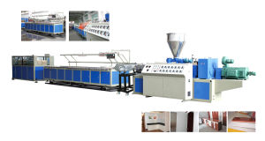 PVC Foaming Board Machine pictures & photos