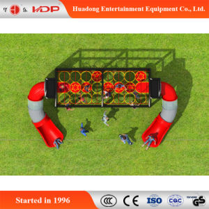 2017 Outdoor Gym Playround Equipment Slide for Kids (HD-MZ012) pictures & photos