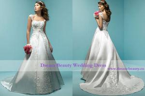 Wedding Dress & Bridal Gown (Hs13-Mic)