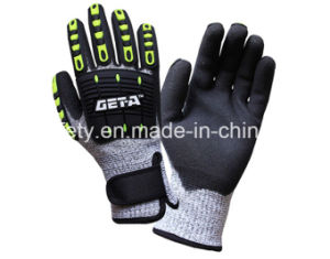 Cut Resistant Work Glove with TPR (TPR9004) pictures & photos