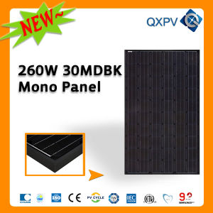 30V 260W Black Mono Solar Panel pictures & photos
