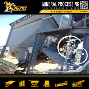 200 Tons Per Hour Movable Gold Trommel Washing Screener Machine pictures & photos