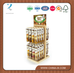 Floor Standing Retail Store Snack Food Display Shelf pictures & photos