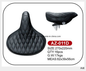 Soft Leather Electric Bicycle Saddle Az-011d pictures & photos