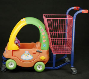 Children Shopping Trolley (YRD-E3) pictures & photos