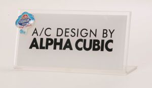 Acrylic Tent Card / Sign, W/ Special Printing