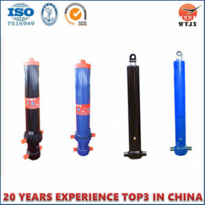 Multistage Telescopic Hydraulic Cylinders with Fe pictures & photos