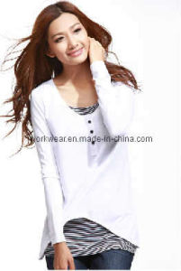 Women′s Fashion T-Shirt (SH96)
