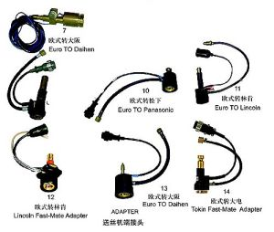 Welding Accessories Welding Adapter, Cable Adapter for Welding Torch pictures & photos