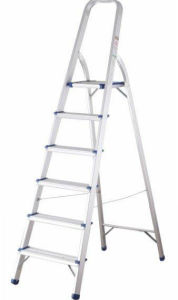 7 Steps Household Aluminum Ladder pictures & photos