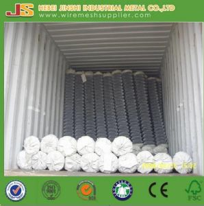 PVC Coated Chain Link Fence for School Playground pictures & photos