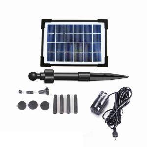 2W Flow-Adjustable Solar Pond Pump