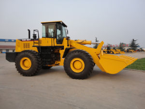 6 Ton/ 3.5 M3/175kw Wheel Loader Zl966, 6 Ton Loaders pictures & photos