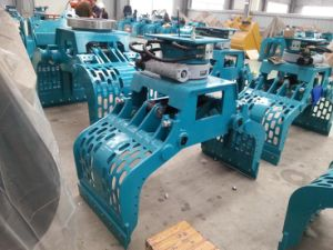Excavator Rotating Grapple Selector Grab Excavator Demolition Grab pictures & photos