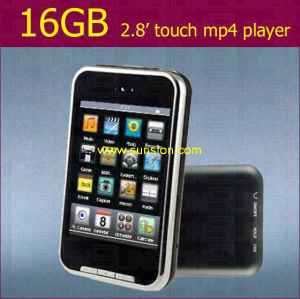 2.8 Inch Touch Screen MP4 Player