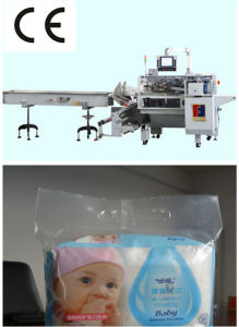 Box Motion Type Wet Wipes Wrapping Machine pictures & photos