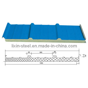 Polyurethane Sandwich Panel for Good Heat and Sound Insulation Building Materials pictures & photos