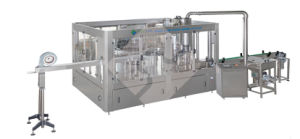 Sterilizing-Washing-Filling-Capping 4in1 Monobloc Water Filling Machine (CGFB) pictures & photos